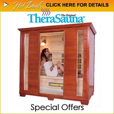 TheraSauna, indoor sauna, infrared sauna